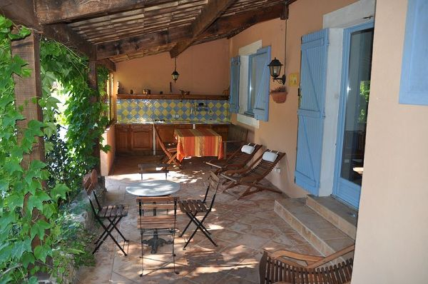House to rent in CHATEAUVERT (Var) 8 pers